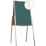 Мольберт детский двухсторонний для рисования мелом и маркером, 50х75 см, металлический