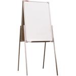 Мольберт детский двухсторонний для рисования маркером, 50х75 см, металлический