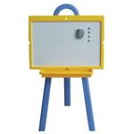 Мольберт детский двухсторонний для рисования, 60х45 см, пластиковый