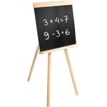 Детский мольберт для рисования мелом, 42х45 см, деревянный