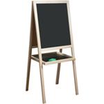 Мольберт детский двухсторонний для рисования, 46х54 см, деревянный